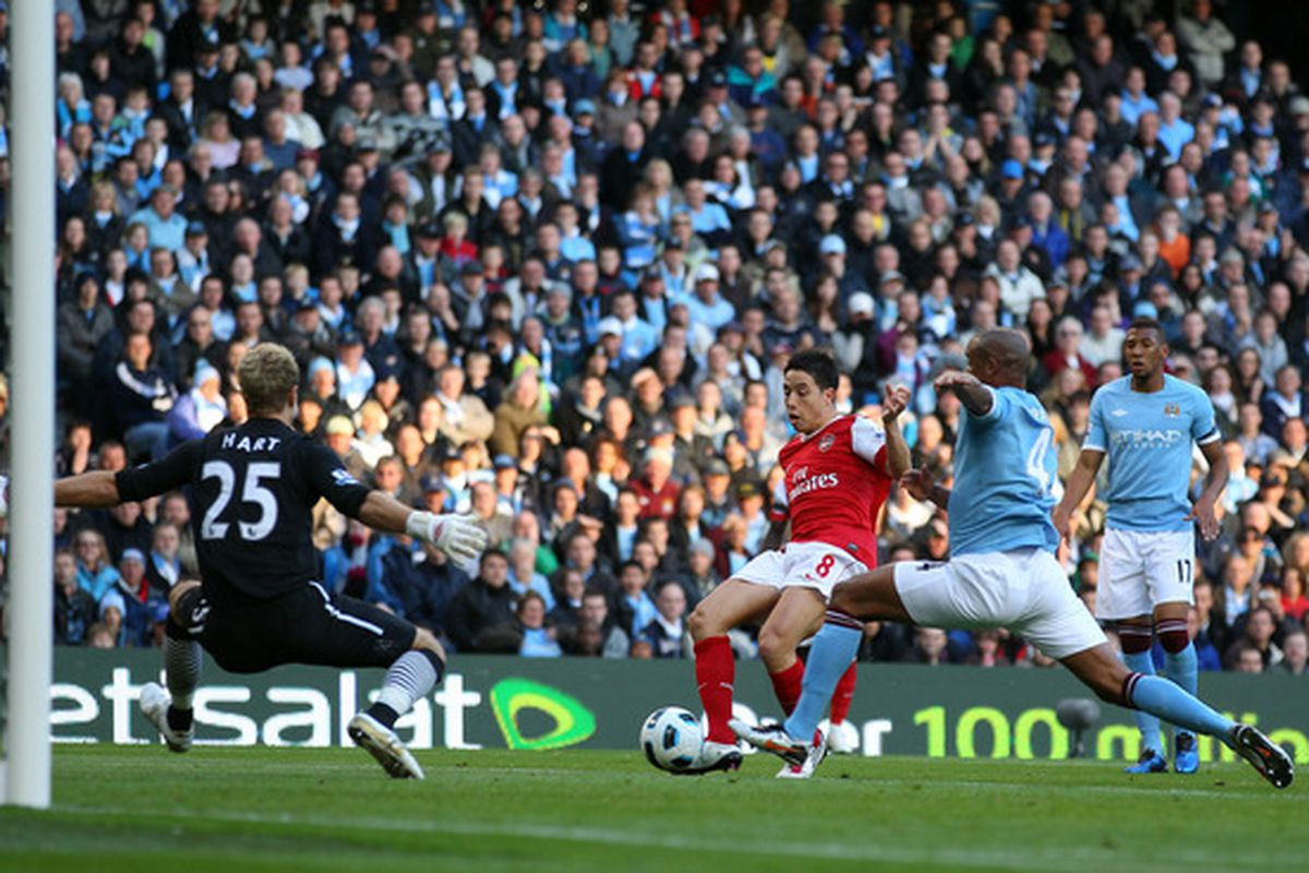 Samir Nasri is the first name on the squad sheet for Carlo Ancelotti's Premier League Southern Division.