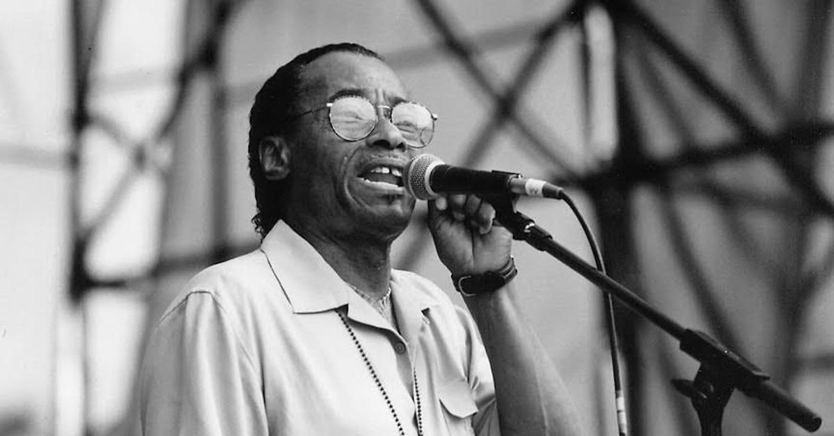 Maxwell Street blues singer Little Al Thomas, dead at 89, had his first record at 69