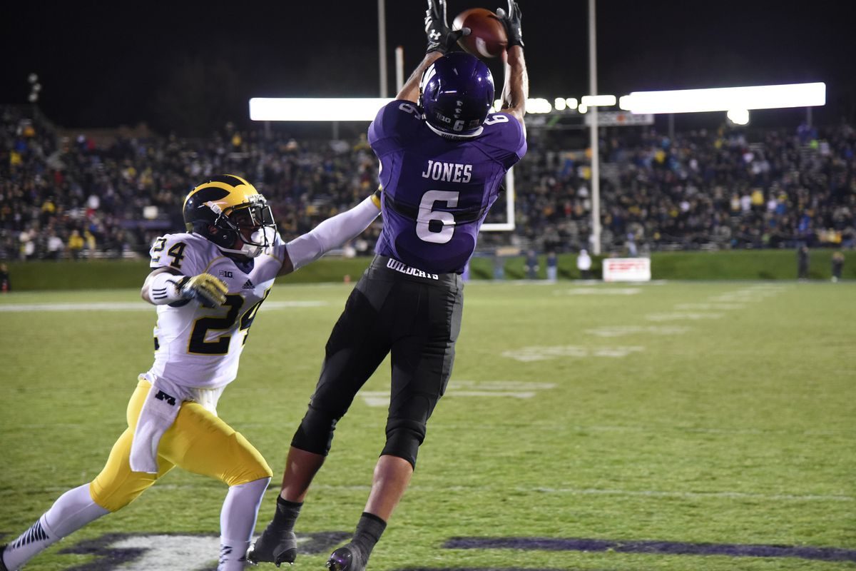 Northwestern scores a touchdown in the most #BigTen game of the season so far.