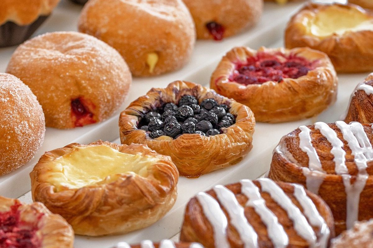 A variety of pastries