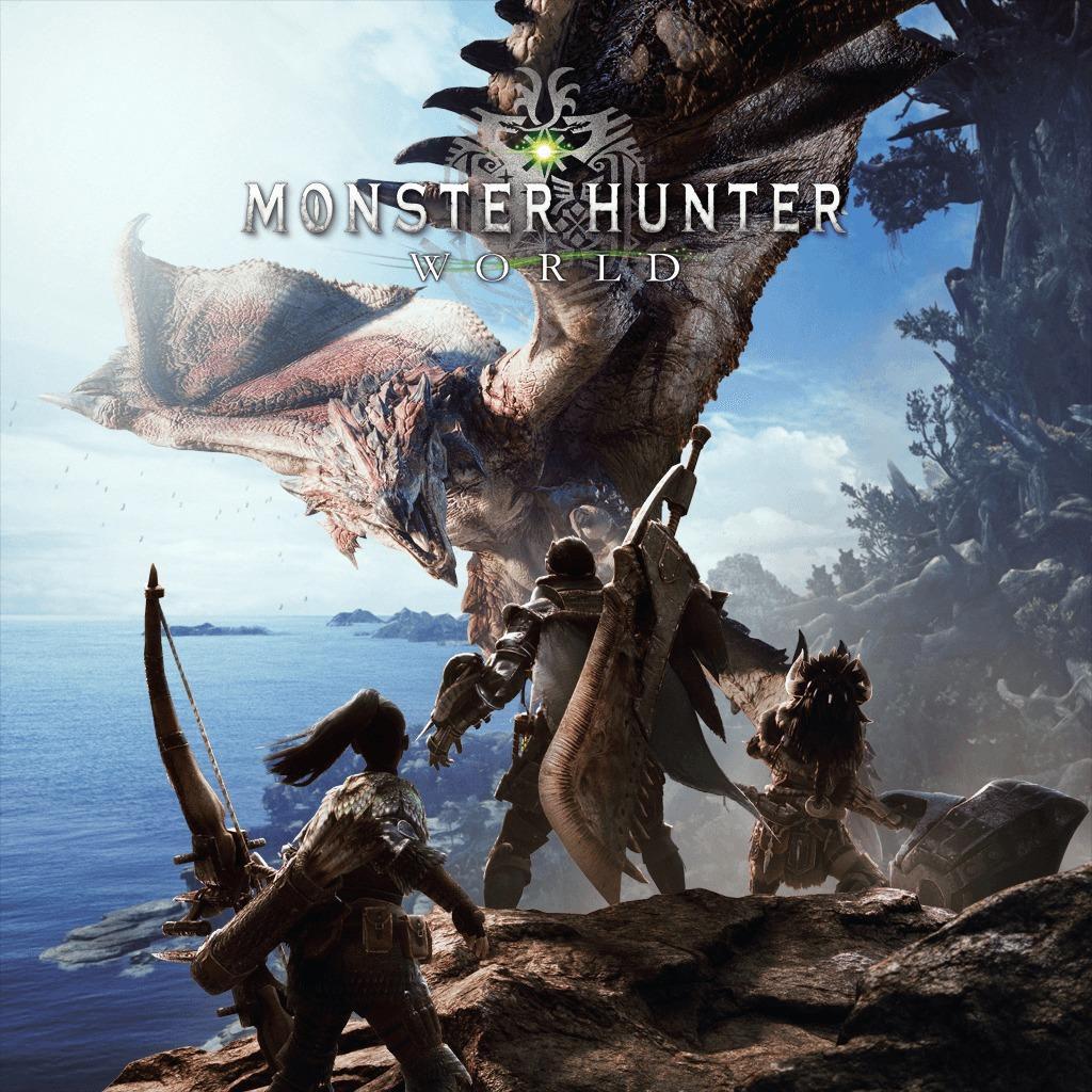 Monster Hunter: World cover art