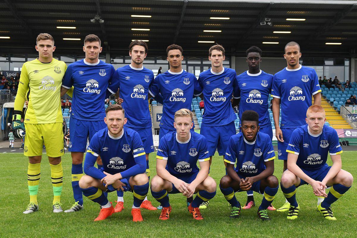 Everton v Celtic: U21 SuperCup NI Final