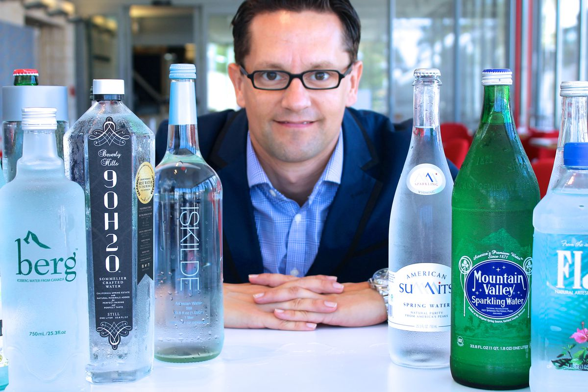 How America S Only Water Sommelier Is Changing The Way