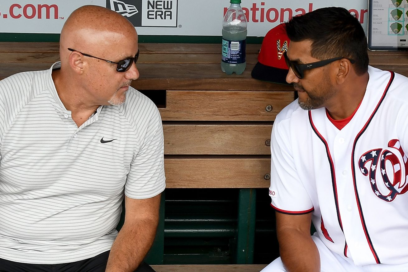 Washington Nationals' GM Mike Rizzo on the trade deadline; no non-waiver deadline this year + more...