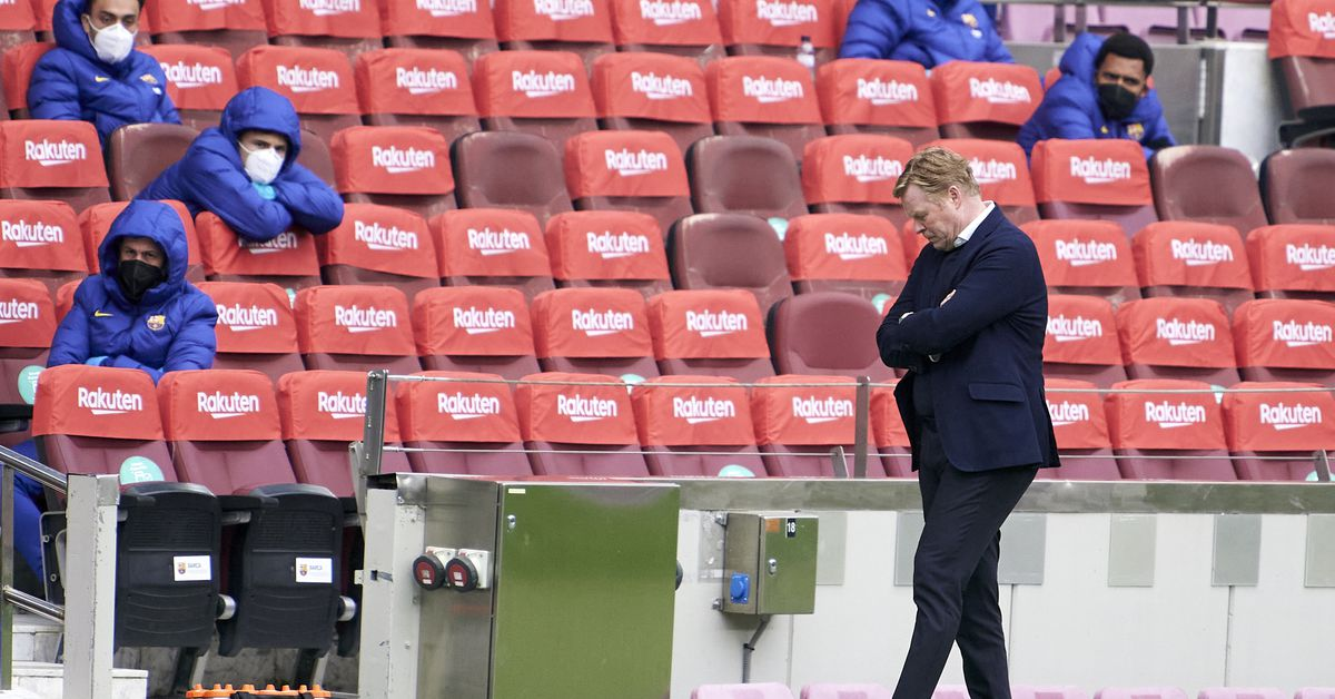 'These kind of games have to be won' - Koeman disappointed by Barcelona draw - Barca Blaugranes