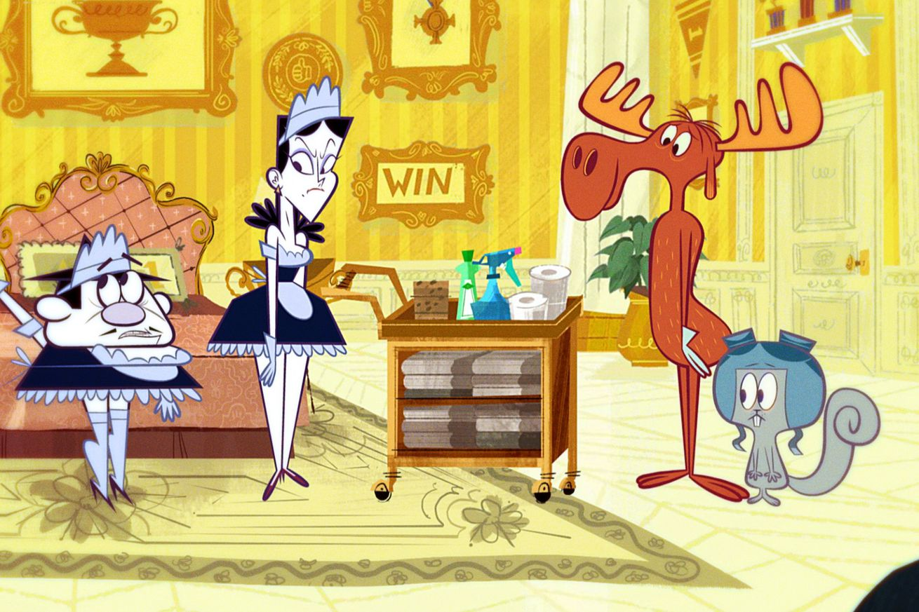 amazon s rocky and bullwinkle brings back an old favorite but why