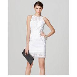 """<b>Milly</b> Mia Peplum Dress, <a href=""""http://www.millyny.com/Shop/All-Dresses/MIA-PEPLUM-DRESS-3653.html"""">$395</a>"""