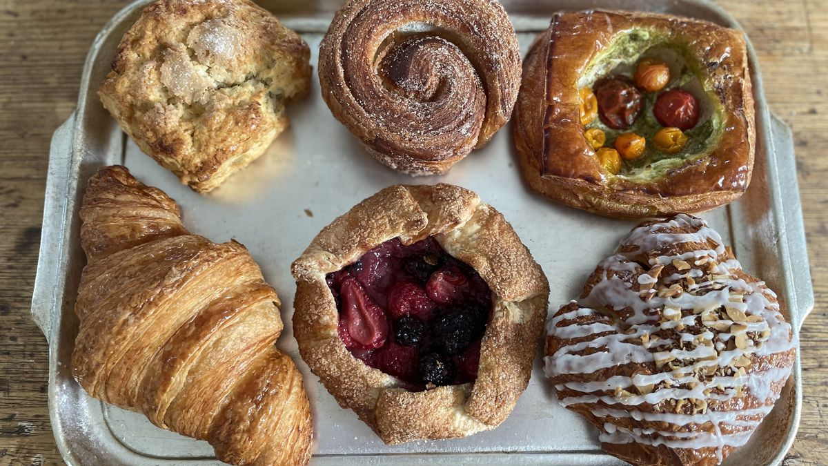 Pastries from Pastry Bar at Angelino Restaurant