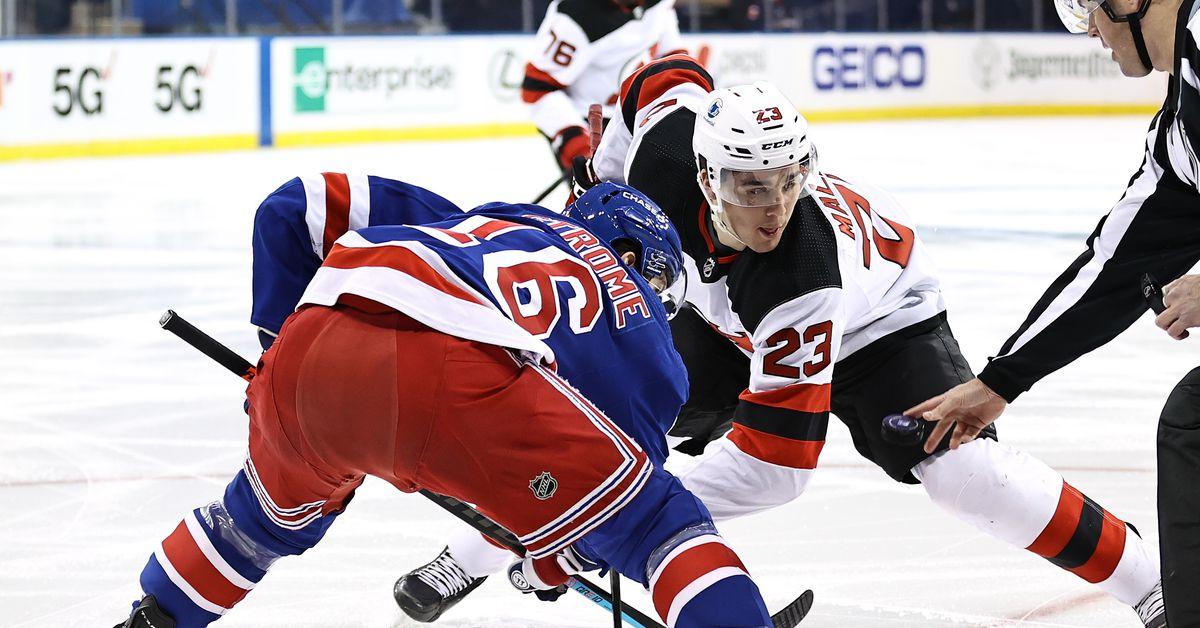Rangers vs. Devils: Devils Bounce Rangers After 15-Day Layoff - Blueshirt Banter