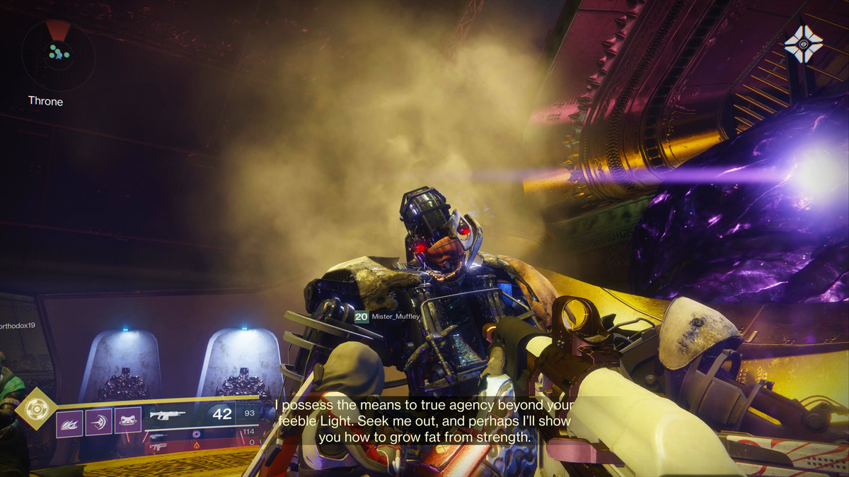 Destiny 2 Leviathan Raid Guide Emperor Calus Polygon 3 Way Switch Four Lights Congratulations Guardian You Have Destroyed 2s Greatest Threat And Claimed Its Sweetest Loot Time To Come Back Do It All Again Next Week