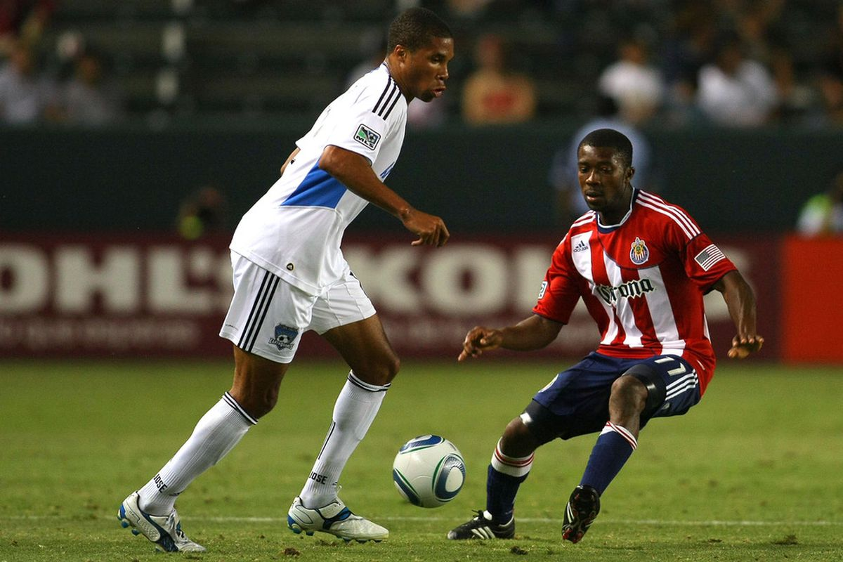 CARSON, CA - JULY 06:  Lahoud: moving on up (the field) for 2012?  (Photo by Victor Decolongon/Getty Images)