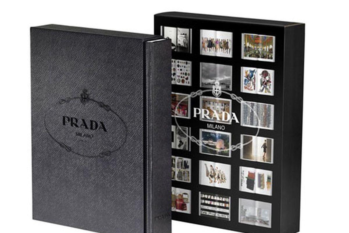 "The big book of Prada weighs in at 706 pages. Oh, how we wish it was a popup. Image via <a href=""http://wwd2.wwd.com/media-news/fashion-memopad/prada-unveils-book-2362683?src=rss/recentstories/20091105#/wwd"">WWD</a>"