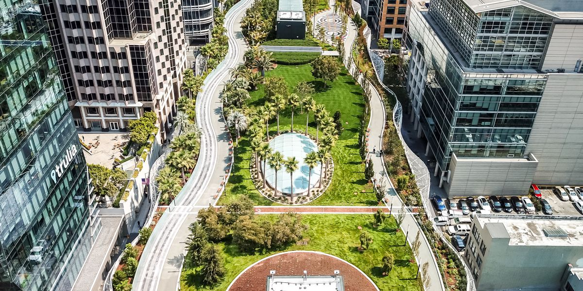 Salesforce Park's grand reopening will be a more subdued affair