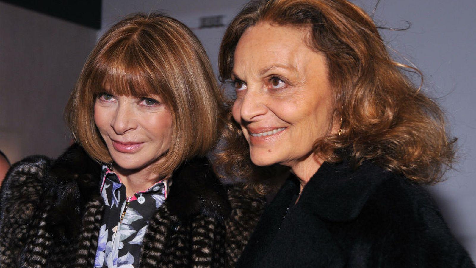 Anna Wintour and Diane von Furstenberg Vie For Ranking of ...