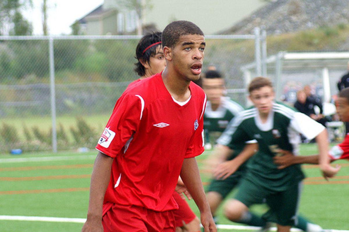 Hamilton playing for team Ontario