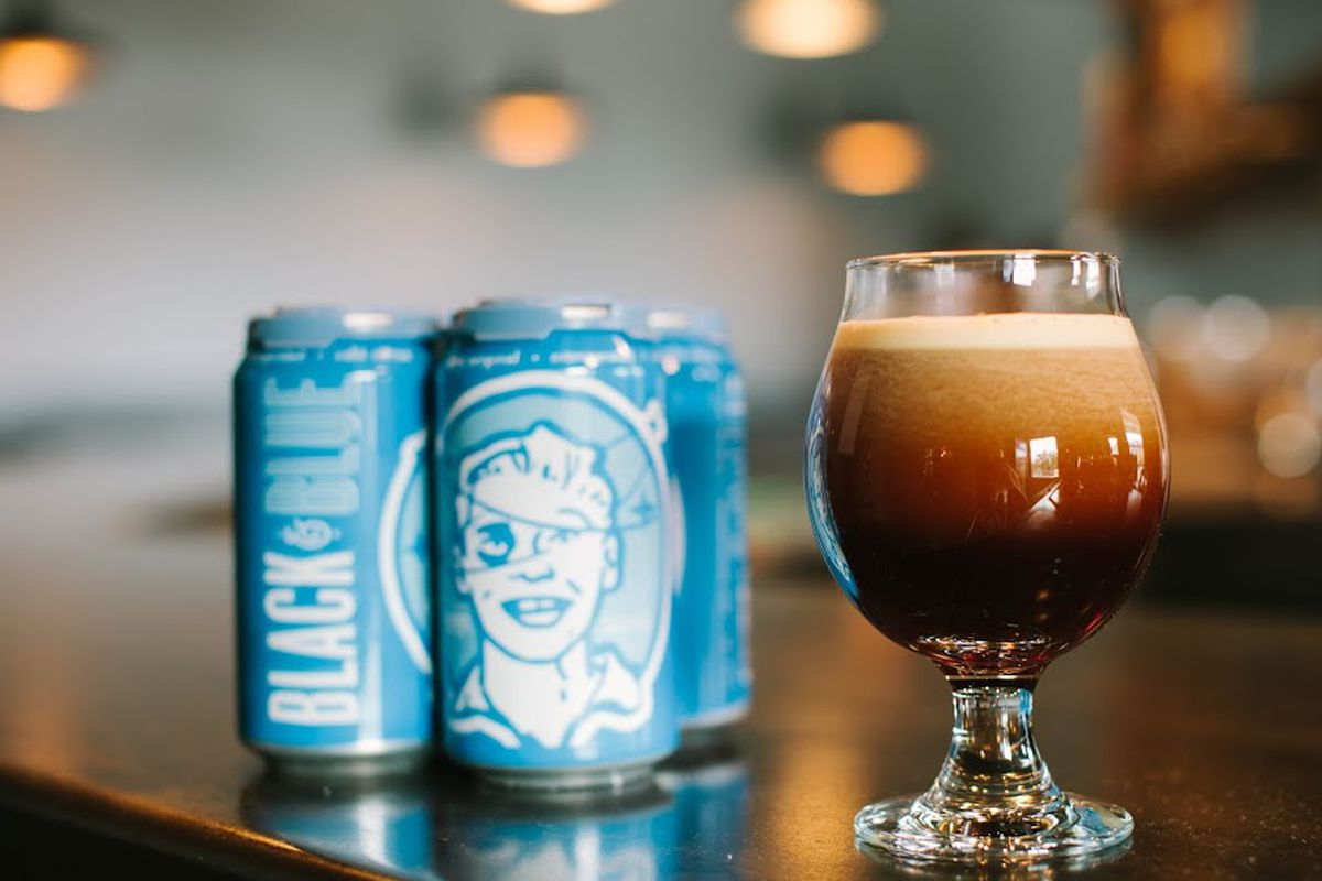 Cuvée Coffee's Black & Blue canned nitro.