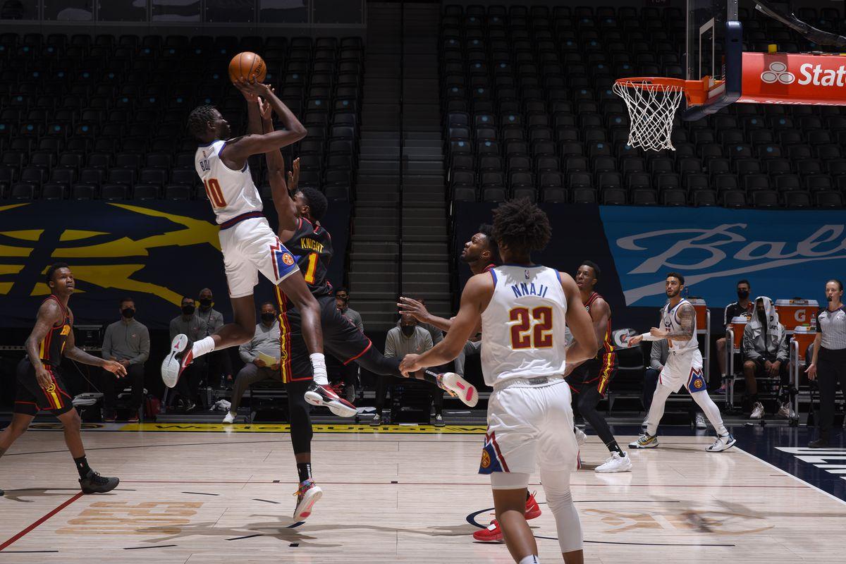 Atlanta Hawks v Denver Nuggets
