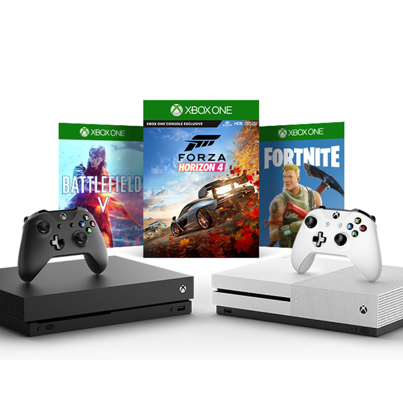 All Xbox One Fortnite Bundle Xbox One Bundles Are On Sale For 50 Off At Amazon Best Buy And More Polygon