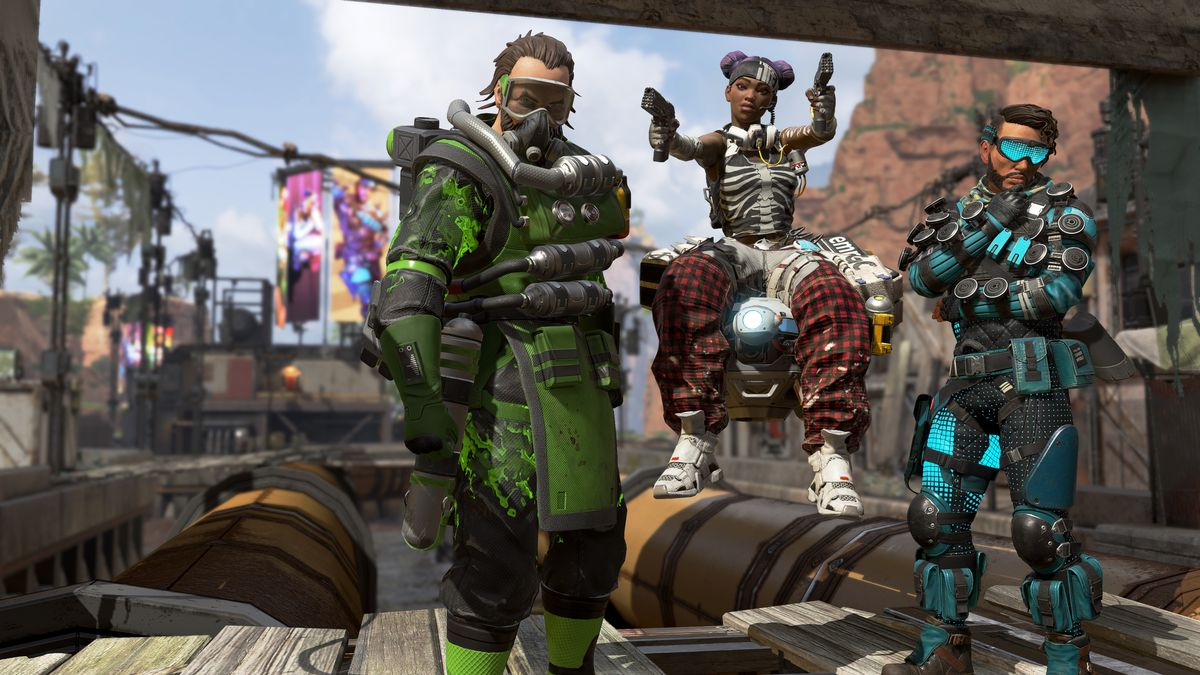Apex Legends - three different characters