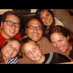 Andrew Roush and his family opened their house Saturday and served up food to friends, family, neighbors and others to celebrate the one-year anniversary of the head-on collision that almost killed him.