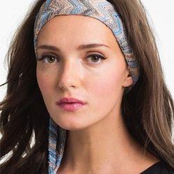 "Missoni Zigzag Headwrap: $95 at <a href=""http://shop.nordstrom.com/s/missoni-zigzag-head-wrap/3462178?origin=category&contextualcategoryid=0&fashionColor=&resultback=5760"">Nordstrom</a>"
