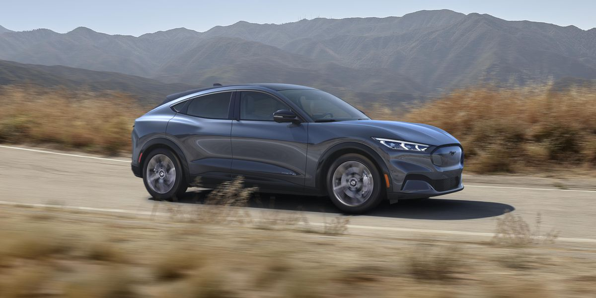 Ford's Mustang Mach-E is an electric SUV with up to 300 miles of range