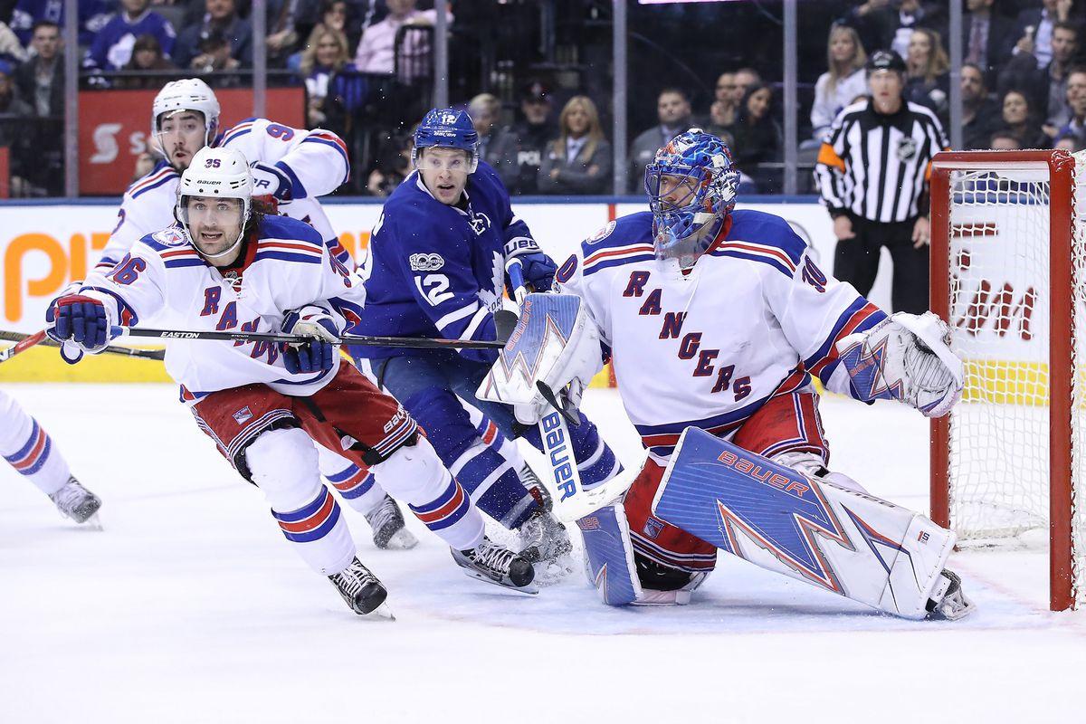 NHL: New York Rangers at Toronto Maple Leafs