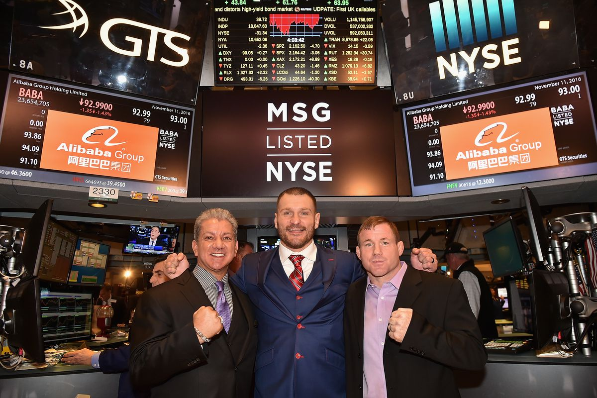 UFC Highlights Their New York City Debut At The NYSE Closing Bell