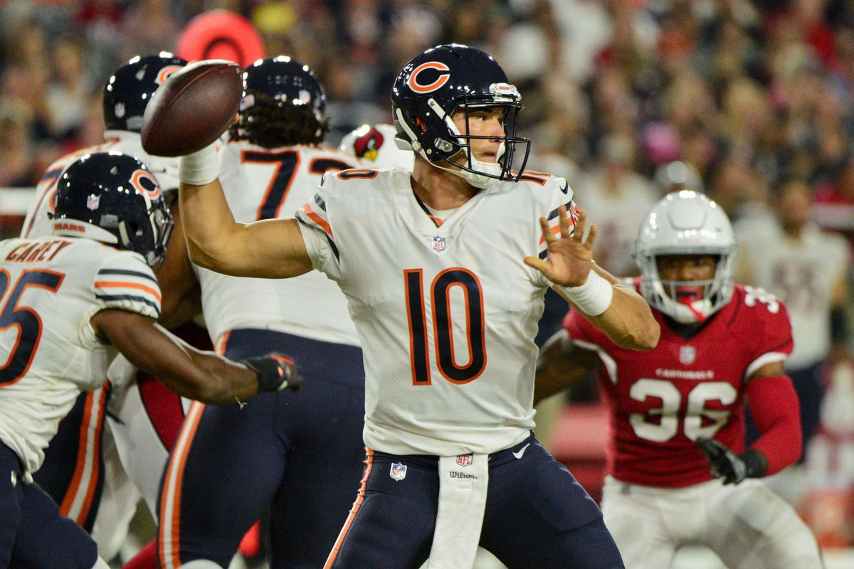 49022766657 The charade is over, the Bears should start Mitchell Trubisky ...