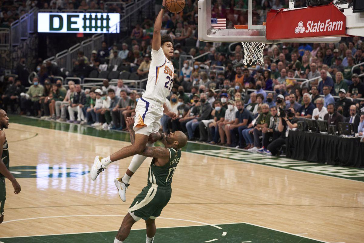 Milwaukee Bucks vs Phoenix Suns, 2021 NBA Finals
