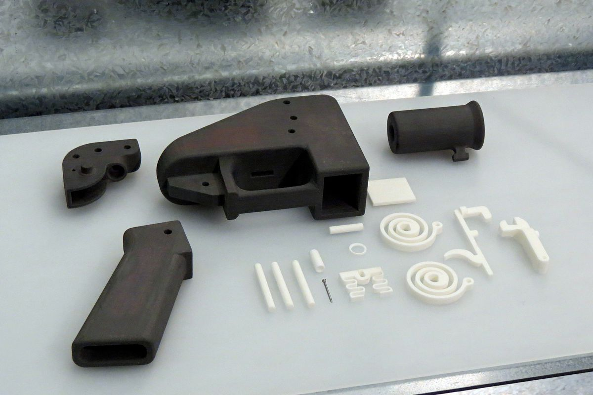 Photo of The Liberator, the world's first 3D-printed gun