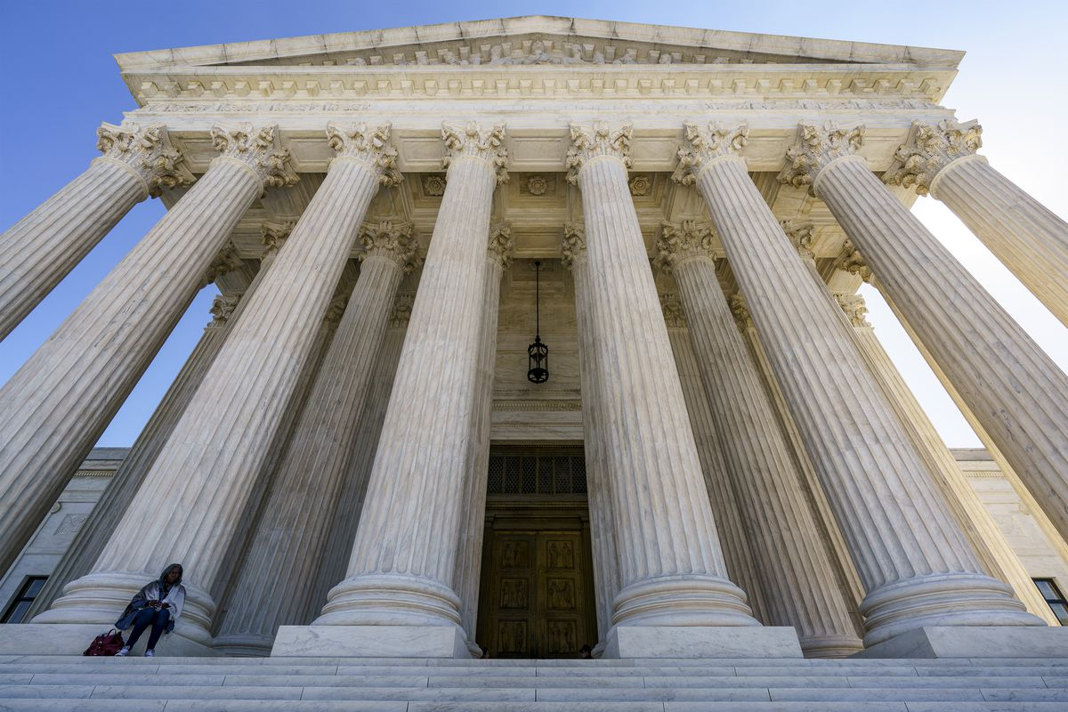 In this Oct. 7, 2020, file photo the Supreme Court in Washington. After more than a decade in which the Supreme Court moved gradually toward more leniency for minors convicted of murder, the justices have moved the other way.