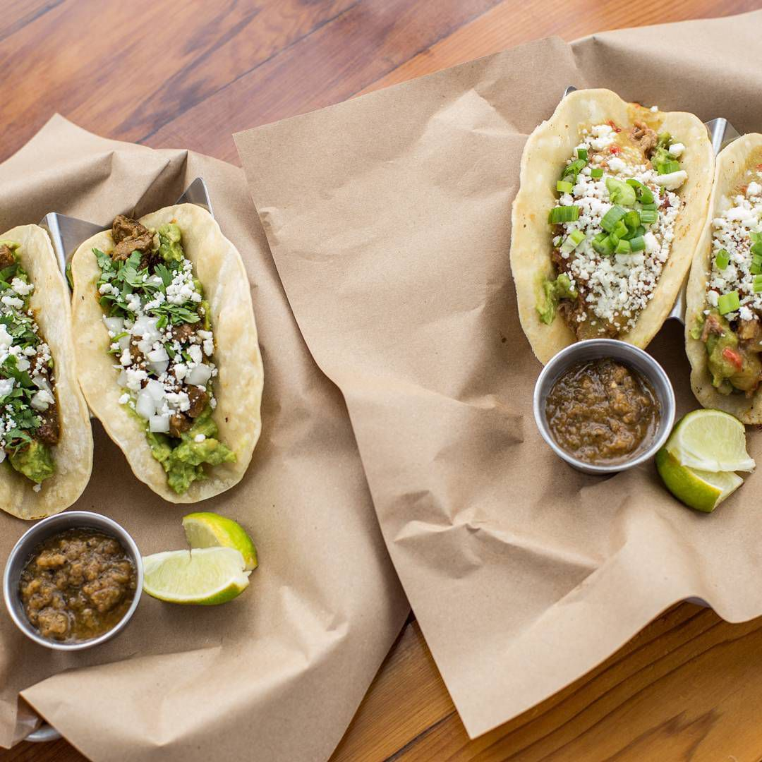 Revelry's tacos