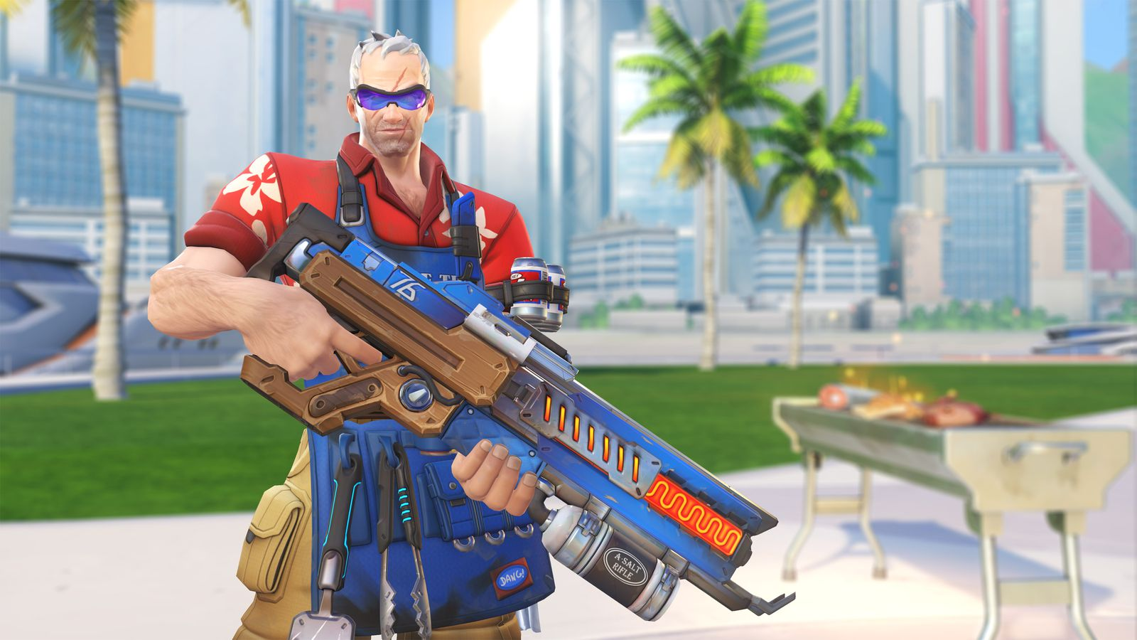 Overwatch Summer Games 2017 skins are here and they're great
