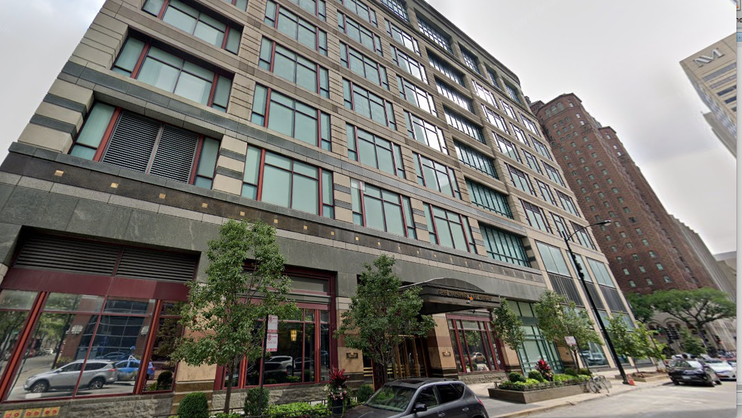 """The owner of a 44th-floor condominium in this Gold Coast building — which he bought for $1.8 million in 1999 — has received the disabled veterans tax break for six years despite not being eligible for it because its """"equalized assessed valuation"""" ranged from $445,754 to the current figure of $636,205. This year, the tax break saved the owner $17,278 — a 40% discount on his total tax bill of $43,968."""