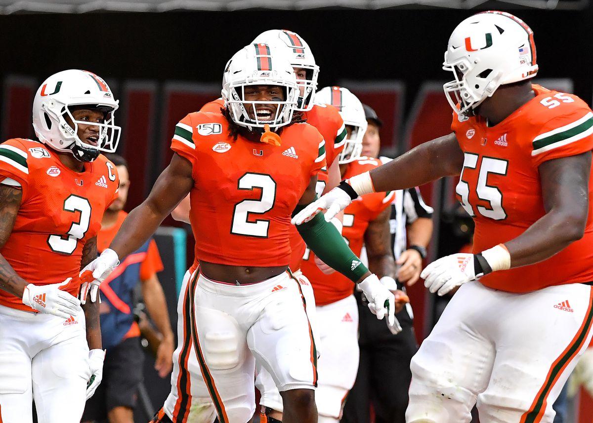 NCAA Football: Bethune Cookman at Miami