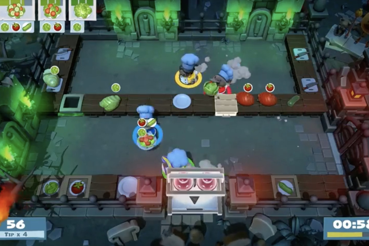 Overcooked 2 and Killer Queen Black are coming to the Switch