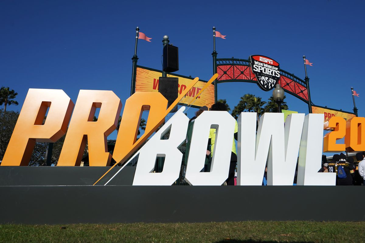 General overall view of Pro Bowl 20 sign at ESPN Wide World of Sports entrance. Mandatory Credit: Kirby Lee