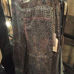 Jacquard patterns pant, $100 (was $695)