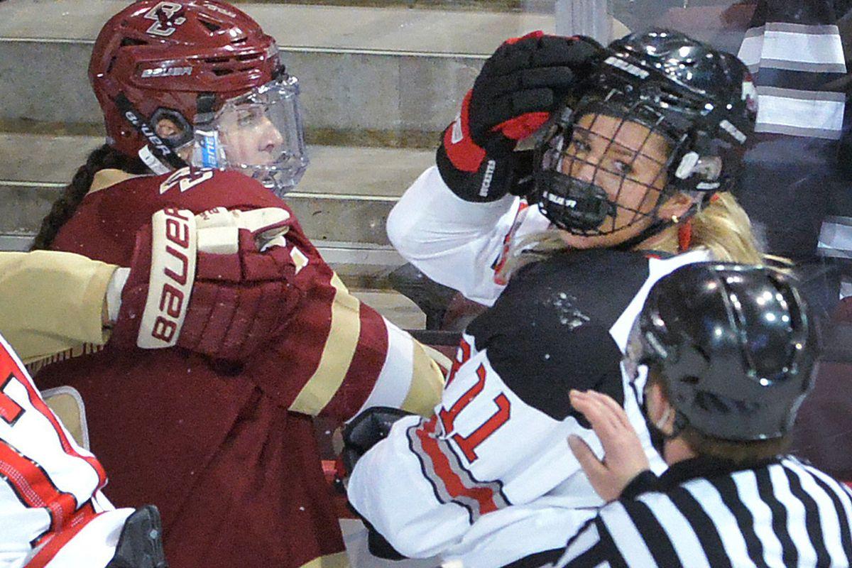 NCAA Hockey: Frozen Four-Boston College vs Ohio State