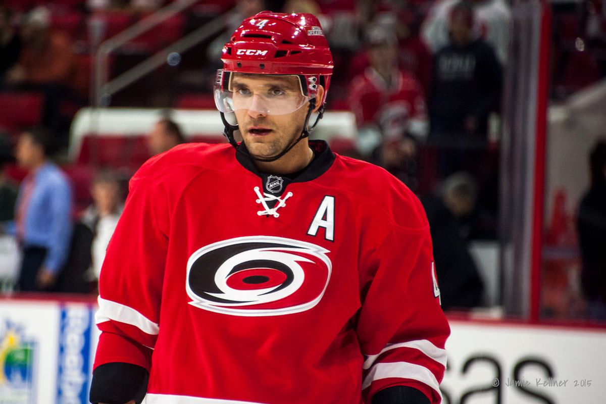 After slightly less than two years with the Canes, Andrej Sekera is headed west.