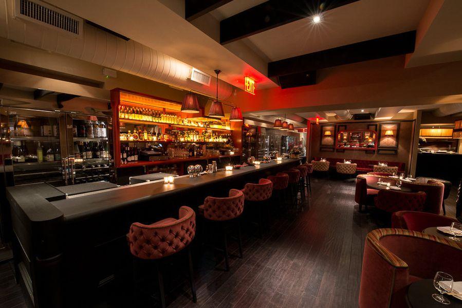 cherry jonathan morr s plush japanese restaurant   eater ny