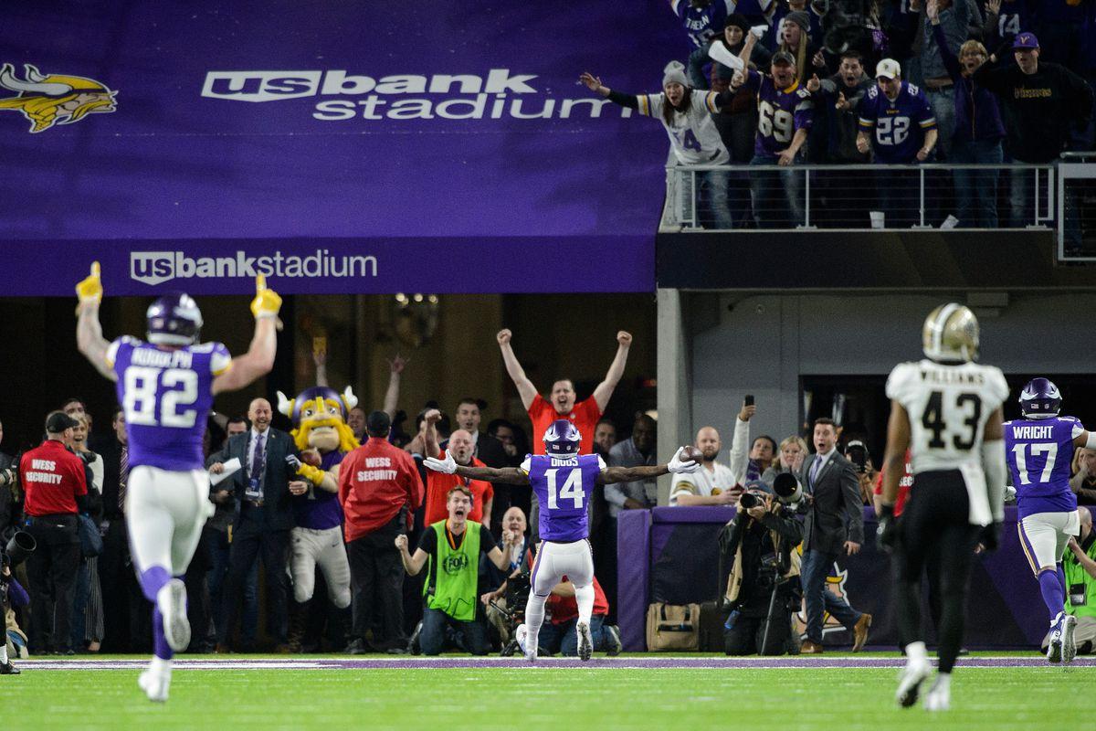 Divisional Round - New Orleans Saints v Minnesota Vikings