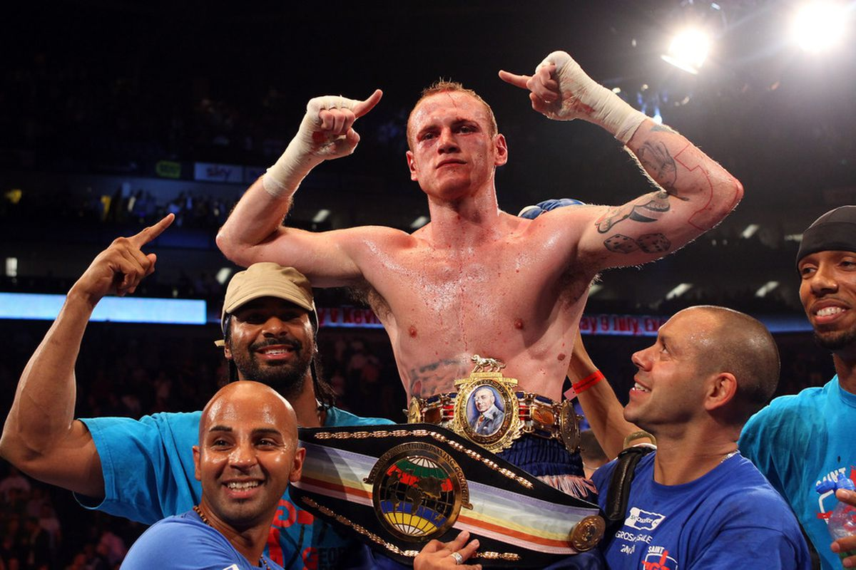 George Groves is moving forward with Frank Warren Promotions. (Photo by Julian Finney/Getty Images)