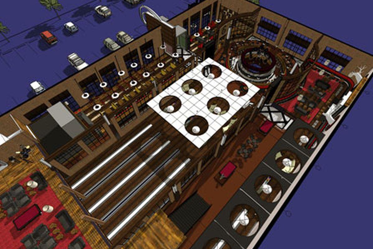 Punch Bowl Floor Plan