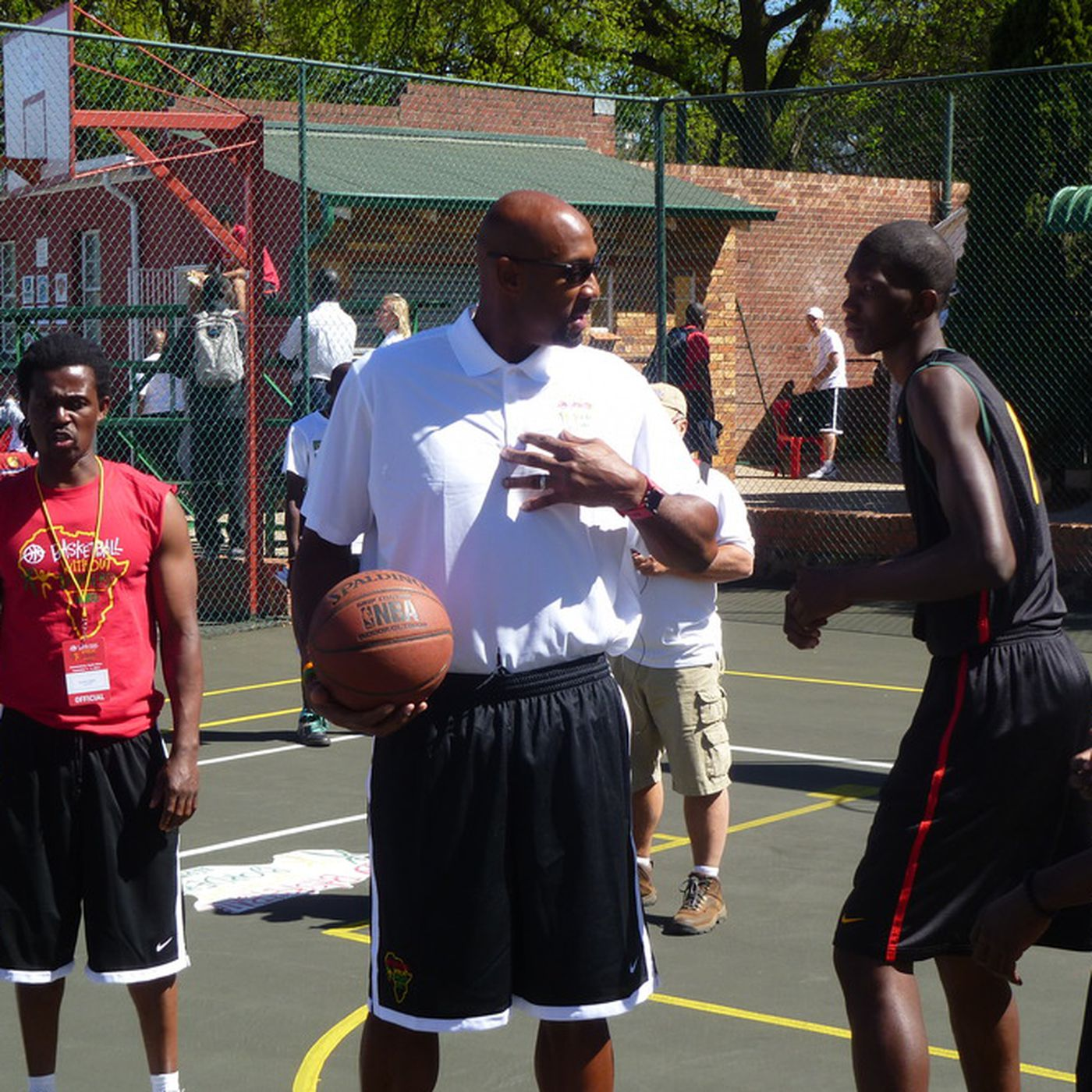 Camaraderie Is Essence Of Nba S Basketball Without Borders In South Africa Sbnation Com