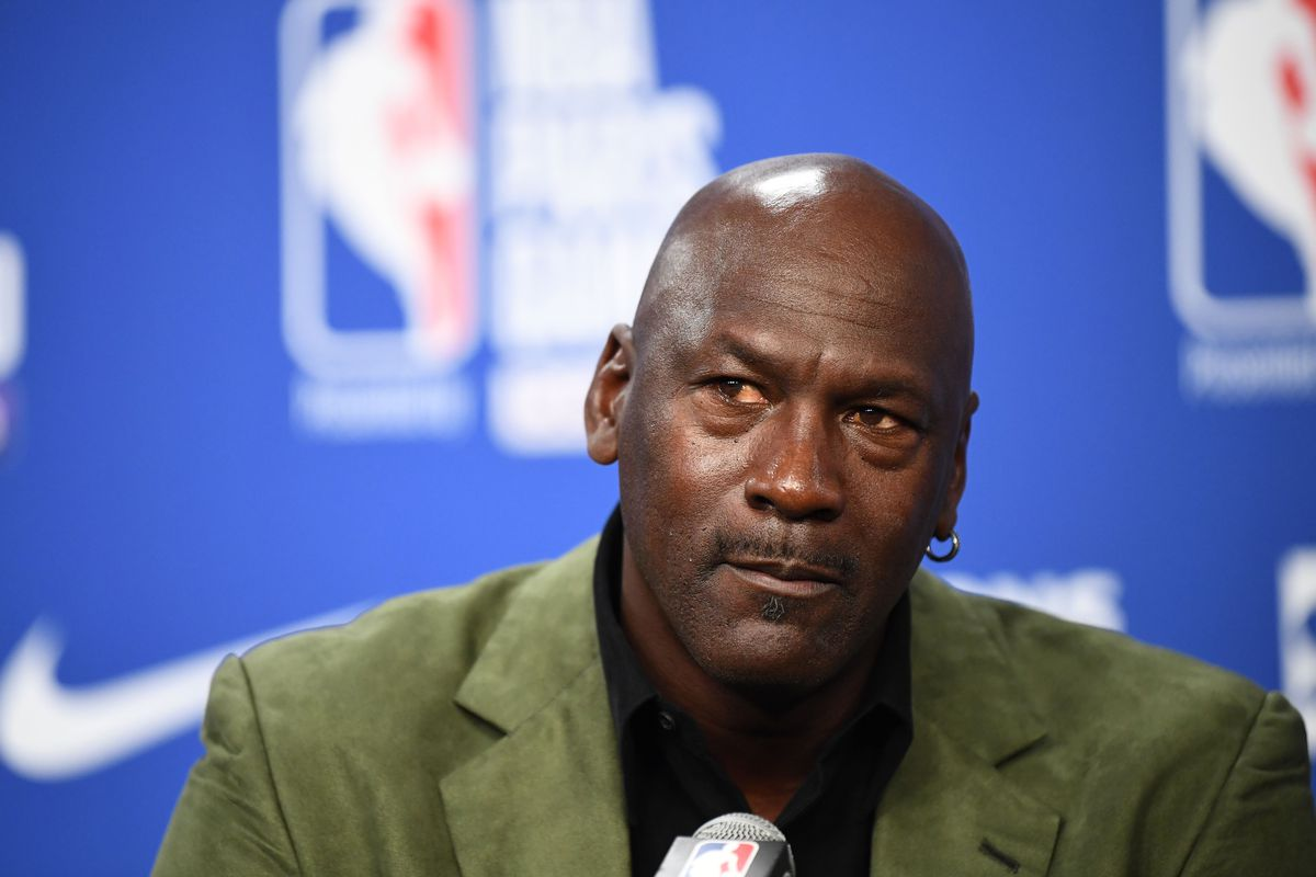 """''I stand with those who are calling out the ingrained racism and violence toward people of color in our country. We have had enough,"""" Michael Jordan said in a statement."""