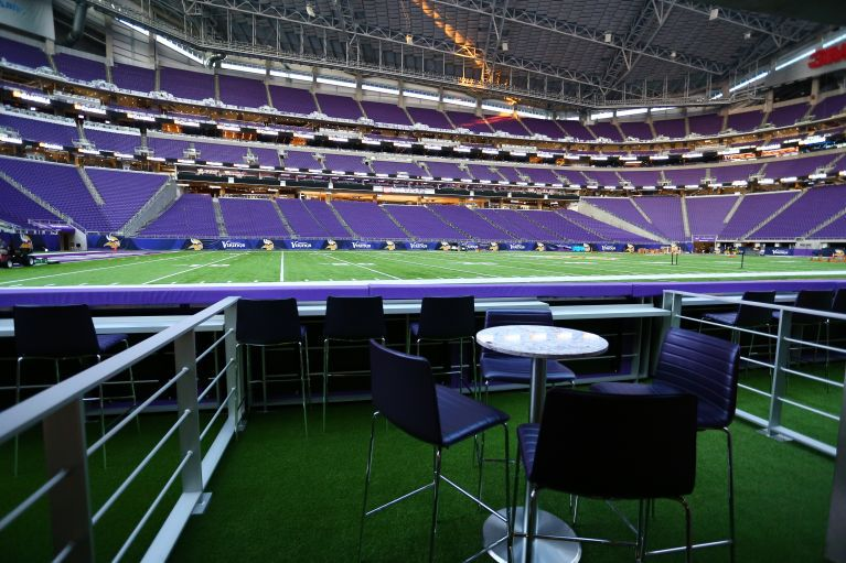 The Vikings New Stadium Is A Beautiful Place Where