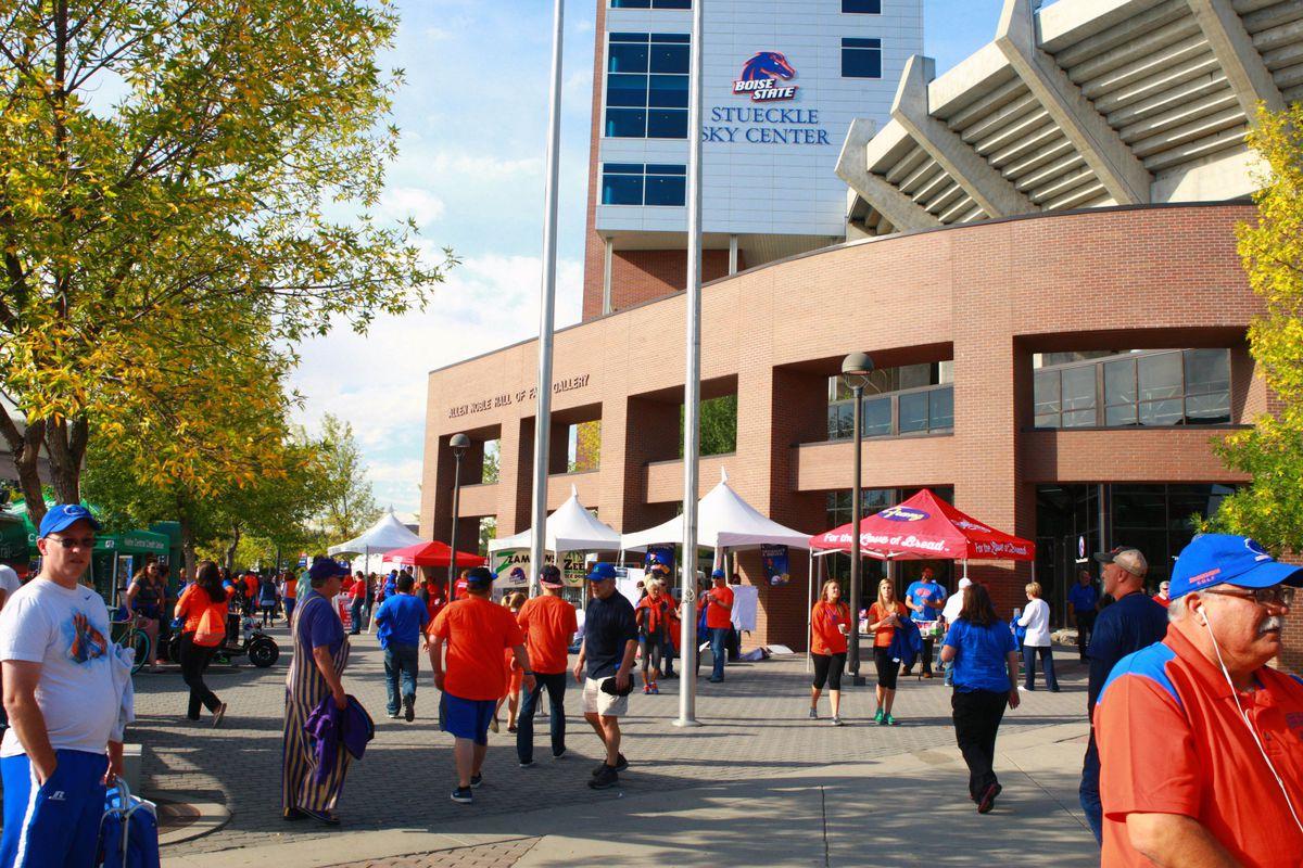 NCAA Football: Washington at Boise State