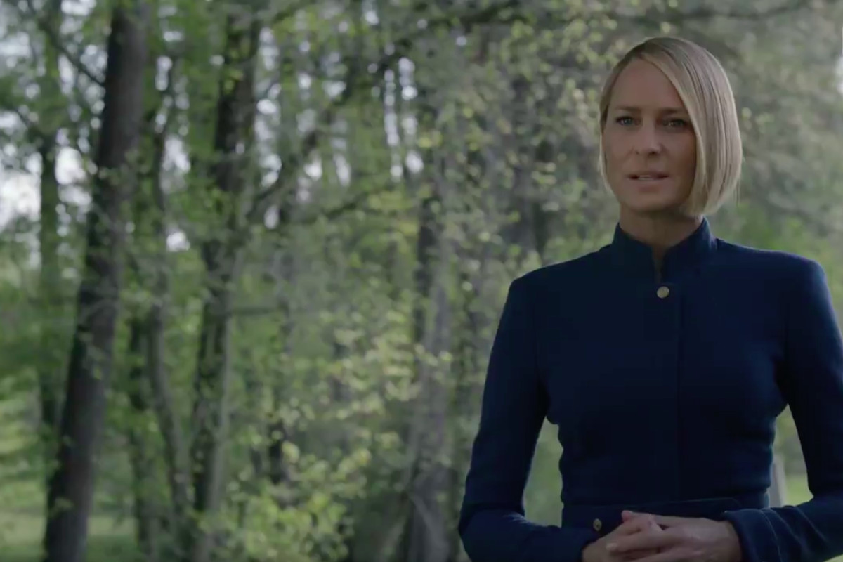 House Of Cards Season 6 Teaser Claire Bids Frank A Ruthless Goodbye